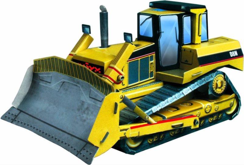 UMBUM 3D puzzle Buldozer