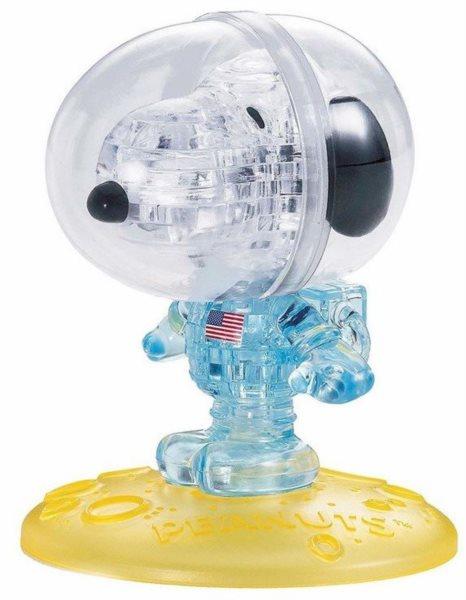 HCM KINZEL 3D Crystal puzzle Astronaut Snoopy 35 dílků