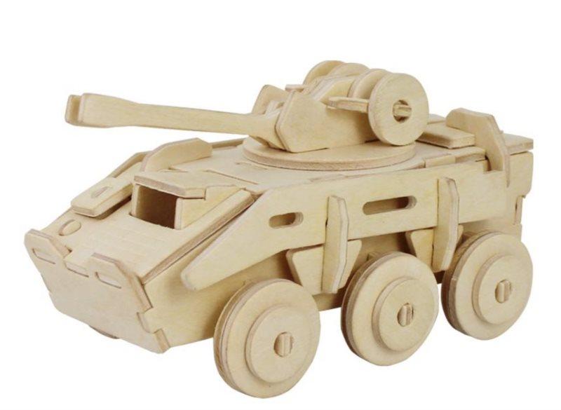 ROBOTIME 3D puzzle Armádní transportér