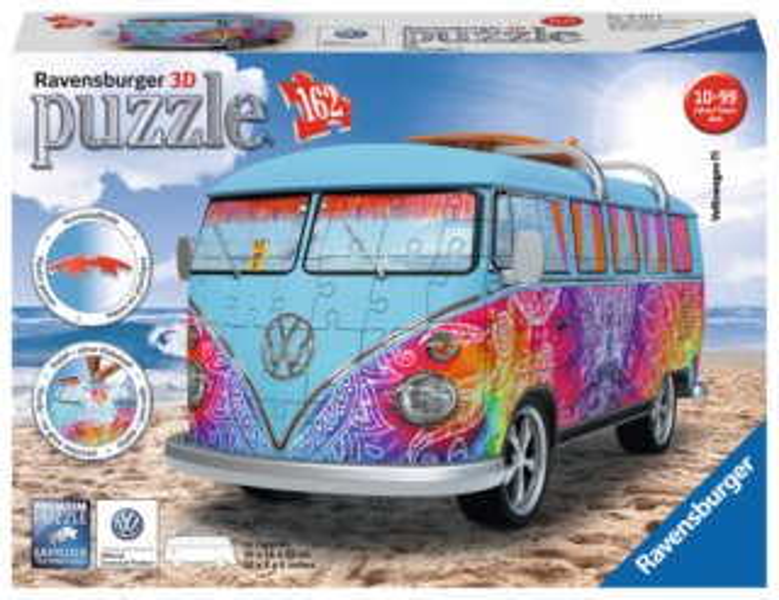 RAVENSBURGER 3D puzzle Autobus Volkswagen T1 Indian Summer 162 dílků