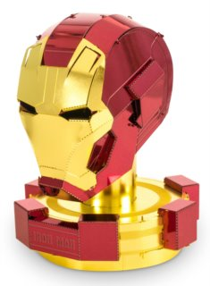 3D kovové puzzle METAL EARTH Avengers: Iron Man - helma
