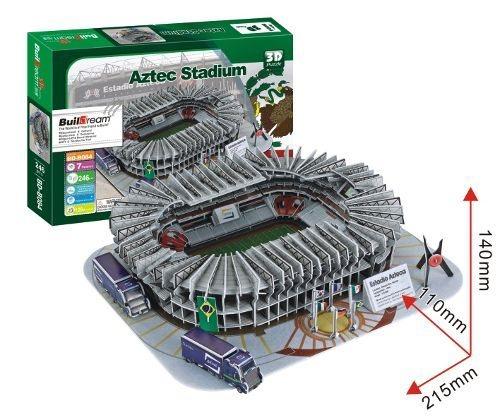 BUILDREAM 3D puzzle Aztécký stadion 246 dílků