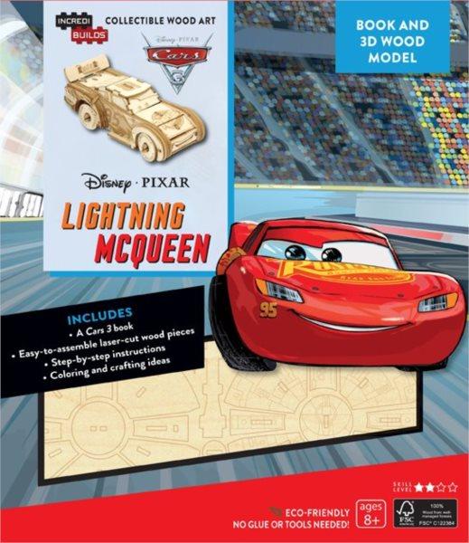 INCREDIBUILDS 3D puzzle Auta: Blesk McQueen 42 dílků