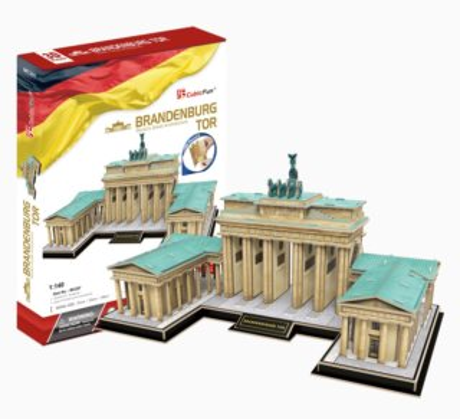CUBICFUN 3D puzzle Braniborská brána 150 dílků