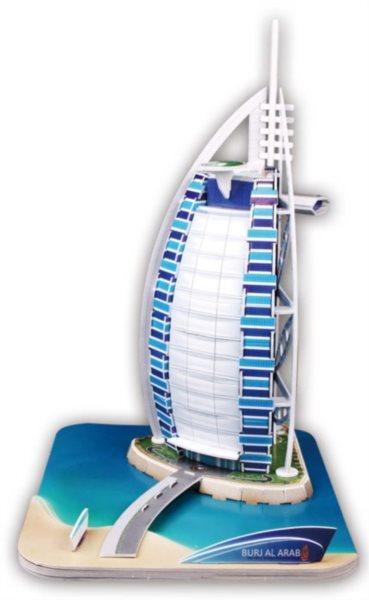 CUBICFUN 3D puzzle Burj al Arab 46 dílků