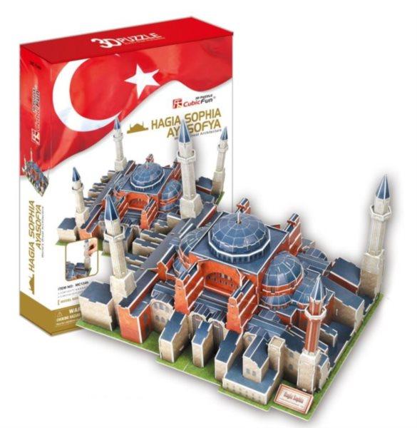 3D puzzle CUBICFUN - Chrám Boží moudrosti (Hagia Sophia)