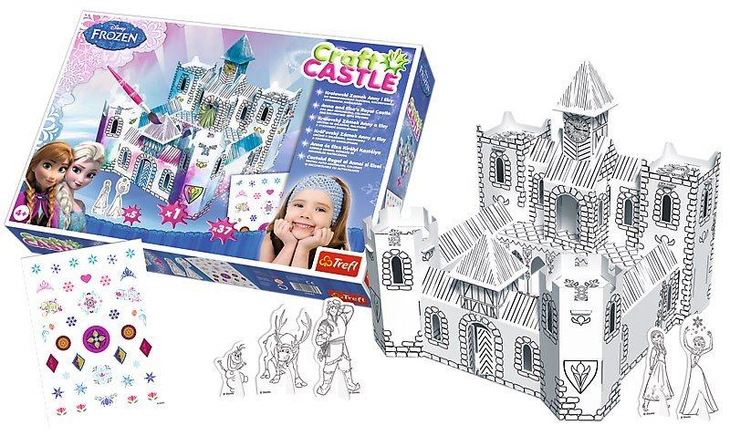TREFL 3D puzzle Craft Castle: Zámek Ledové království