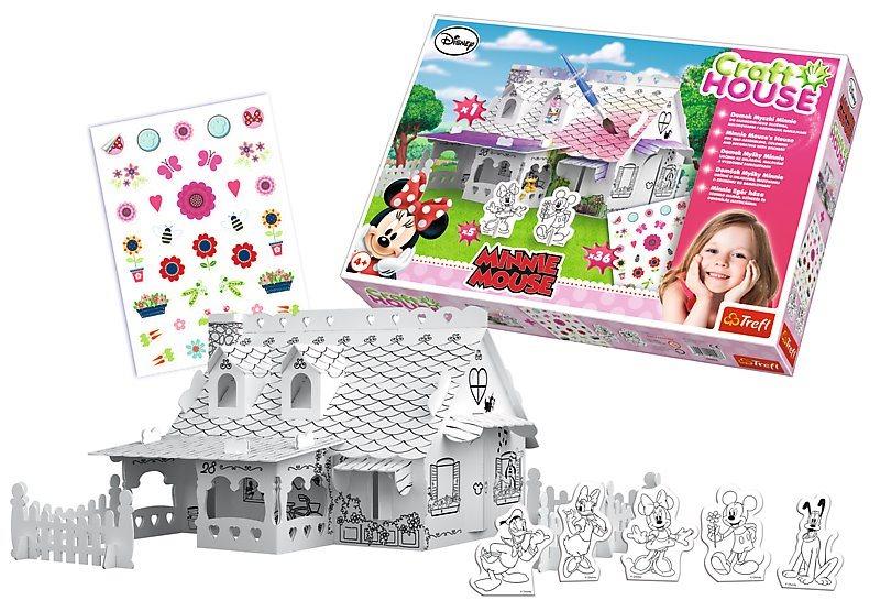 TREFL 3D puzzle Craft House: Domeček Minnie
