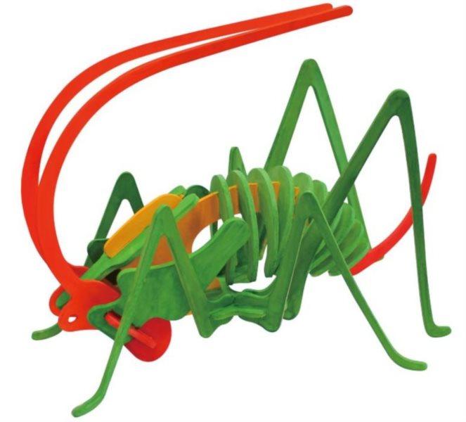 ROBOTIME 3D puzzle Cvrček s barvičkami