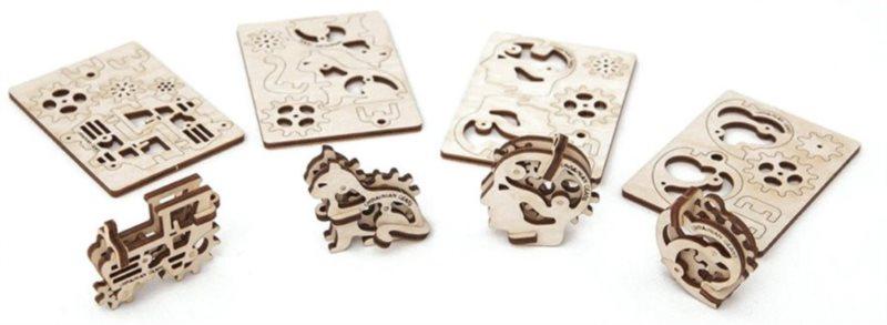 UGEARS 3D puzzle mini sada Drobnůstky