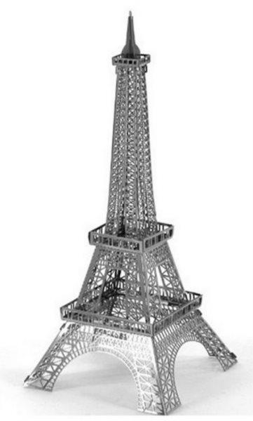 3D kovové puzzle 3D NANO PUZZLE Eiffelova věž
