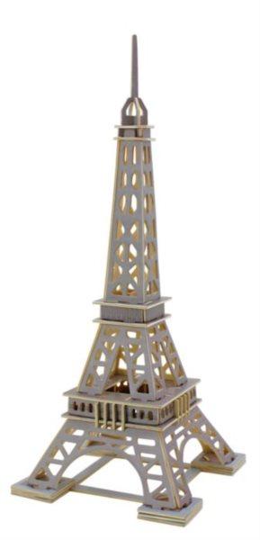 ROBOTIME 3D puzzle Eiffelova věž barevná 63 dílků