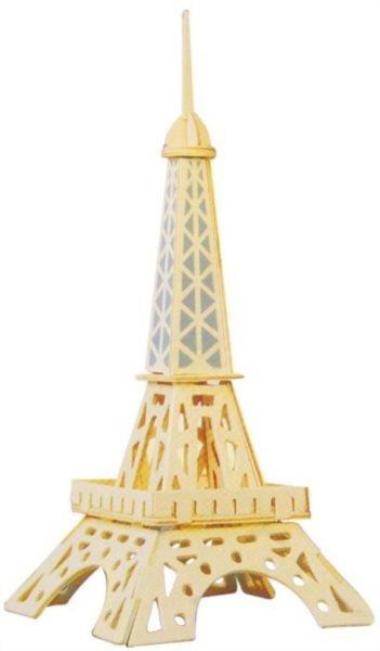 3D dřevěné puzzle Eiffelova věž malá