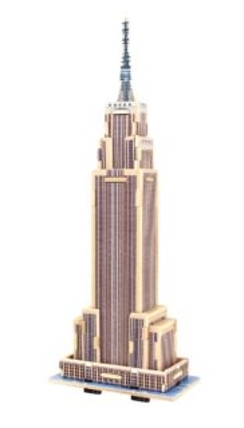 ROBOTIME 3D puzzle Empire State Building barevný 34 dílků