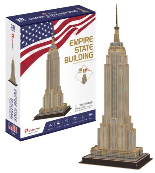 CUBICFUN 3D puzzle Empire State Building 54 dílků
