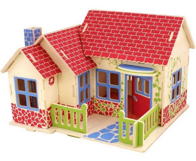 ROBOTIME 3D puzzle Farmářský domek barevný 27 dílků