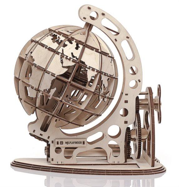 MR. PLAYWOOD 3D puzzle Globus 158 dílků