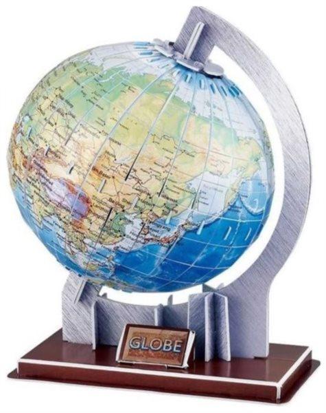 MAGIC PUZZLE 3D puzzle Globus 49 dílků