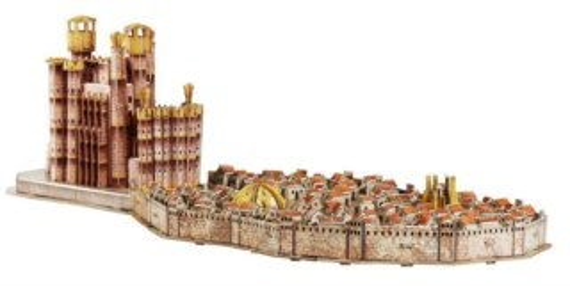4D Cityscape 3D puzzle Hra o Trůny: Královo přístaviště 260 dílků