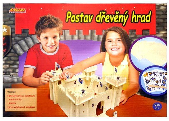 ARTLOVER 3D puzzle Hrad s obtisky