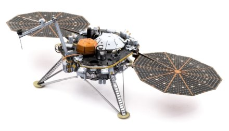 METAL EARTH 3D puzzle InSight Mars Lander
