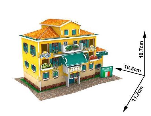 CUBICFUN 3D puzzle Italský lidový dům 26 dílků