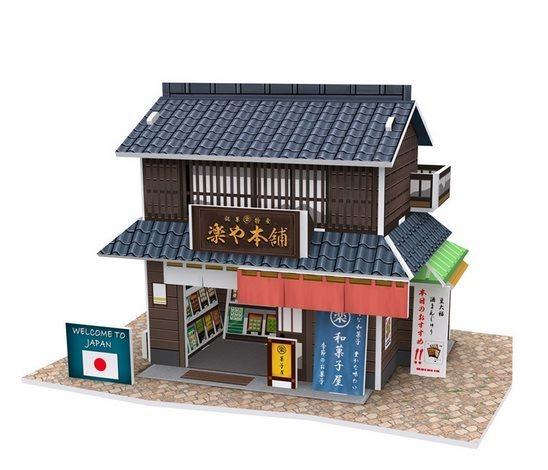 CUBICFUN 3D puzzle Japonský obchod s cukrovinkami 24 dílků
