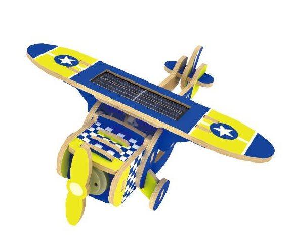 ROBOTIME 3D puzzle Jednoplošník solární barevný