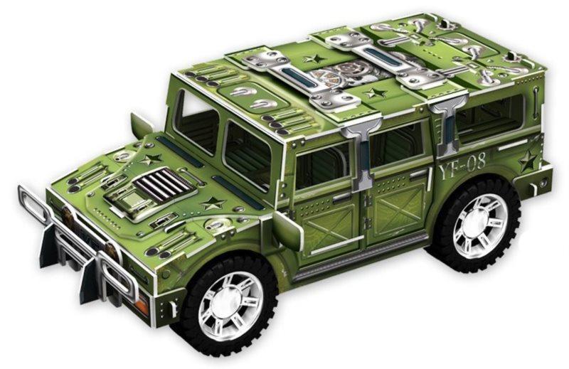 3D puzzle Jeep