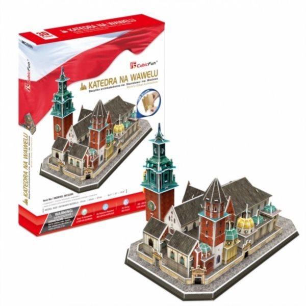 CUBICFUN 3D puzzle Katedrála na Wawelu 101 dílků