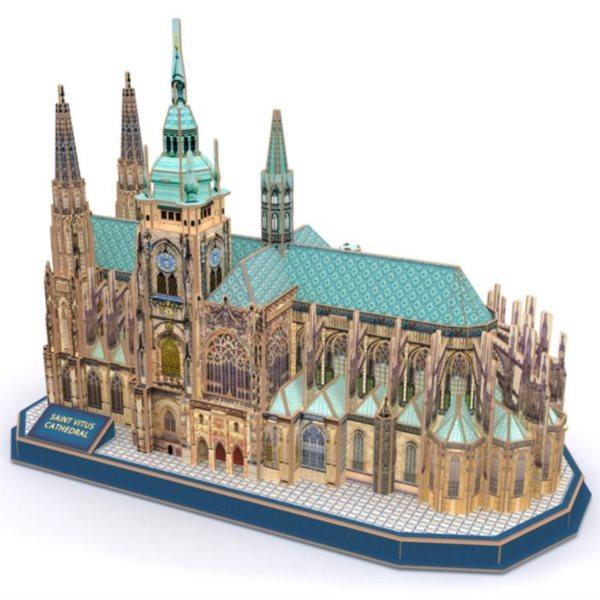 CUBICFUN 3D puzzle Katedrála svatého Víta 193 dílků