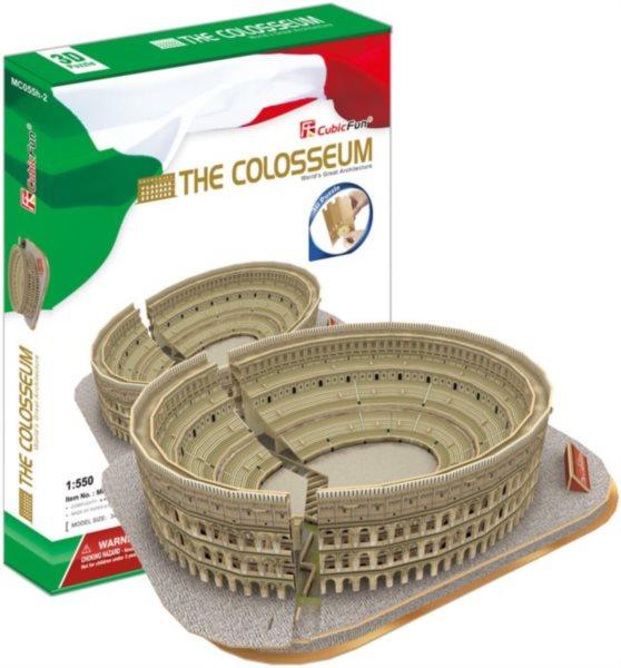 3D puzzle CUBICFUN - Koloseum 3D, Řím 131 dílků