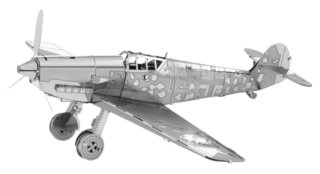 METAL EARTH 3D puzzle Letadlo Messerschmitt BF-109