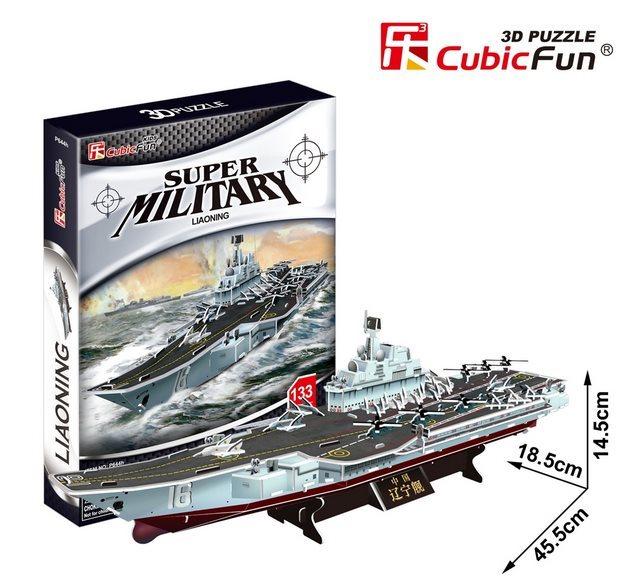 CUBICFUN 3D puzzle Letadlová loď Liaoning 133 dílků