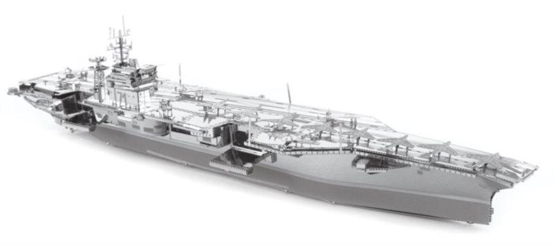METAL EARTH 3D puzzle Letadlová loď USS Theodore Roosevelt CVN-71 (ICONX)