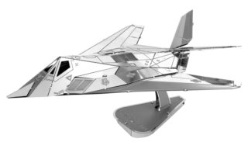METAL EARTH 3D puzzle Lockheed F-117 Nighthawk
