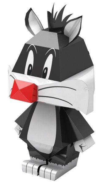 METAL EARTH 3D puzzle Looney Tunes: Kočka Sylvester