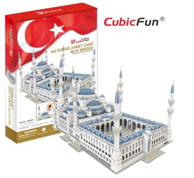 3D puzzle CUBICFUN - Mešita sultána Ahmeda (Sultan Ahmet Camii)