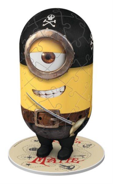RAVENSBURGER 3D puzzle Mimoni: Matie 54 dílků