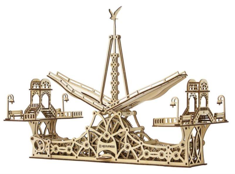 MR. PLAYWOOD 3D puzzle Most pro pěší 229 dílků