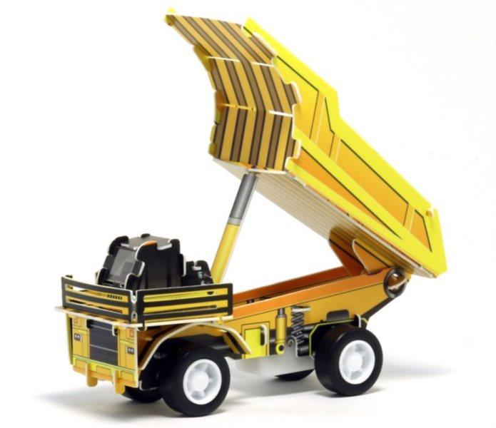 3D puzzle Nákladní auto Kipper 28 dílků