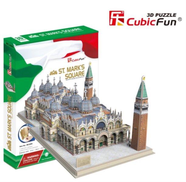 3D puzzle CUBICFUN - Náměstí svatého Marka