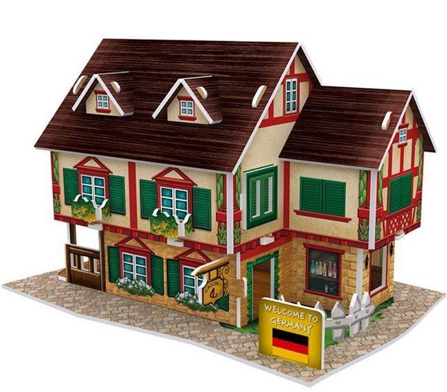 3D puzzle CUBICFUN - Německé potraviny 32 dílků