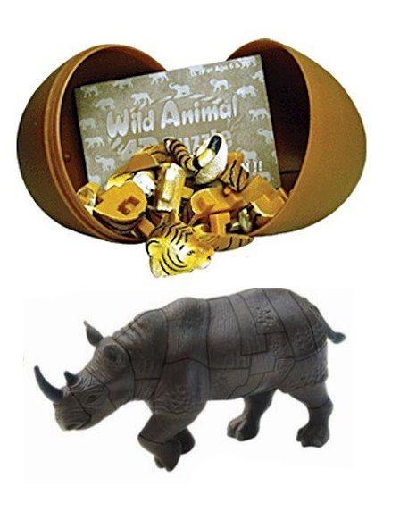 3D puzzle Nosorožec v krabičce