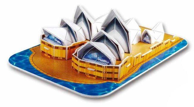 LING LE SI 3D puzzle Opera v Sydney 26 dílků