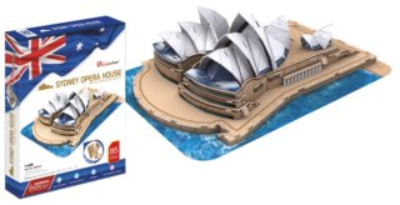 CUBICFUN 3D puzzle Opera v Sydney 85 dílků