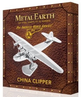 METAL EARTH 3D puzzle Pan American World Airways: China Clipper (deluxe set)