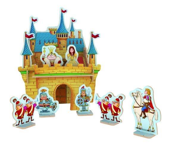 ROBOTIME 3D puzzle Princeznin zámek barevný