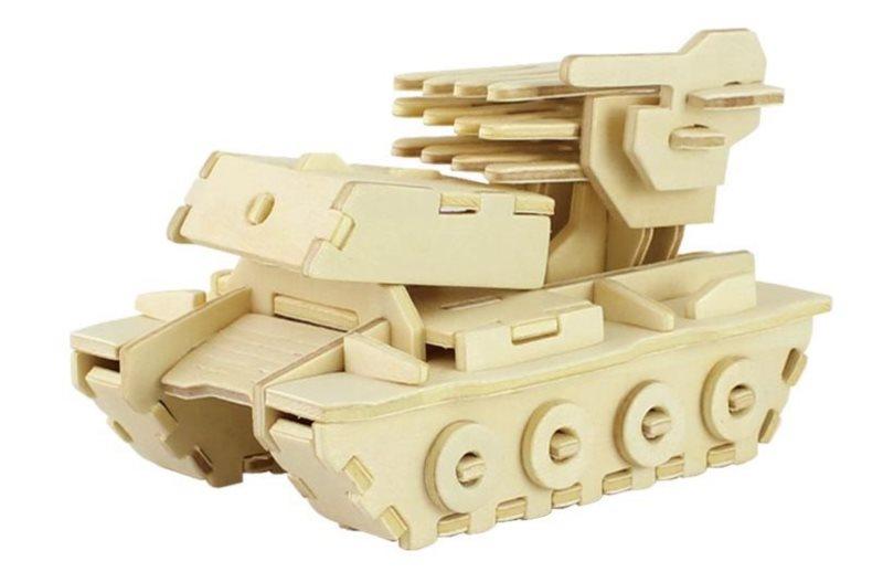 ROBOTIME 3D puzzle Raketomet