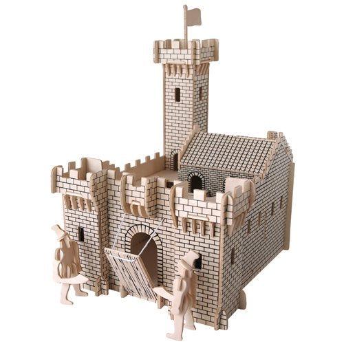 3D dřevěné puzzle Rytířský hrad